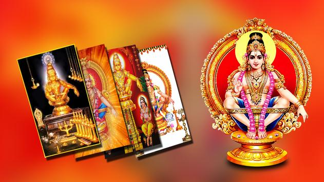 Lord Ayyappa Wallpapers HD Poster Screenshot 1