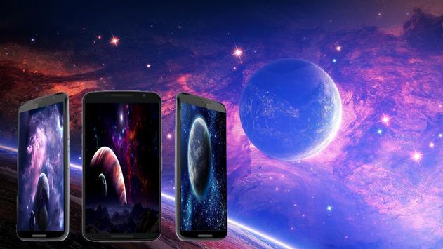 Space wallpapers HD screenshot 1