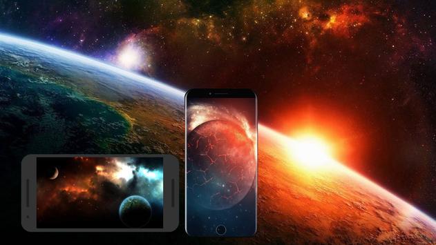 Space wallpapers HD screenshot 2