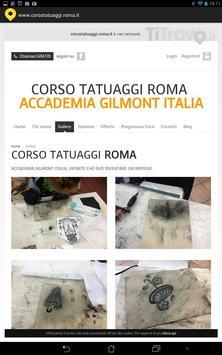 Corso tatuaggi Roma screenshot 1