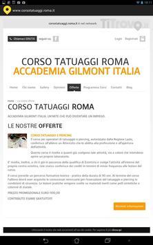 Corso tatuaggi Roma screenshot 2
