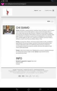 Christy Abbigliamento screenshot 1