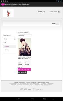 Christy Abbigliamento screenshot 2