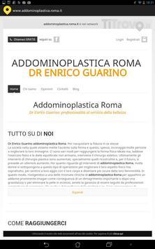 Addominoplastica Roma poster