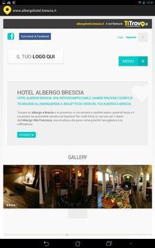 Albergo Hotel Brescia poster