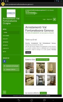 Arredamenti Val Fontanabuona poster