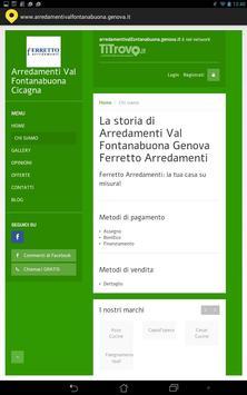 Arredamenti Val Fontanabuona apk screenshot