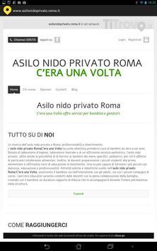 Asilo nido privato Roma poster
