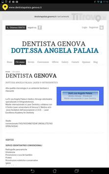 Dentista Palaia Genova screenshot 2