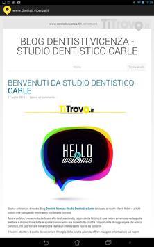 Dentisti Vicenza screenshot 2