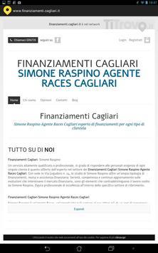 Finanziamenti Cagliari poster
