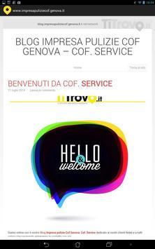 Impresa pulizie Cof Genova apk screenshot