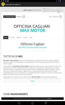 Officina Cagliari poster