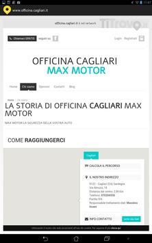 Officina Cagliari apk screenshot