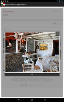 Osteria Punto e a Capo apk screenshot