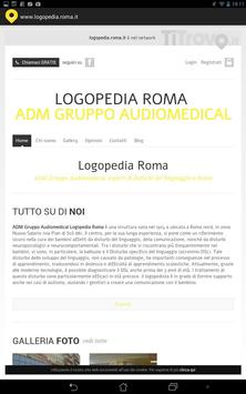 Logopedia Roma poster