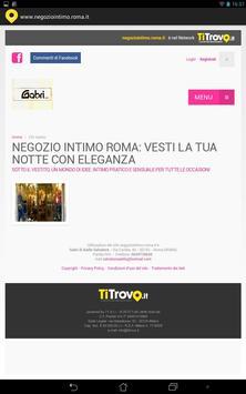 Negozio Intimo Roma apk screenshot