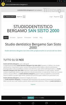 Studio dentistico Bergamo poster