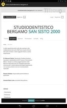 Studio dentistico Bergamo screenshot 1