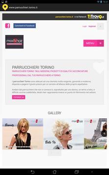Parrucchieri Torino poster