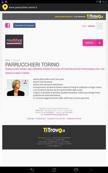 Parrucchieri Torino screenshot 1