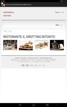 Pizzeria Il Grottino apk screenshot