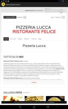 Pizzeria Lucca poster