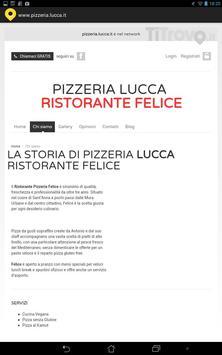 Pizzeria Lucca screenshot 2