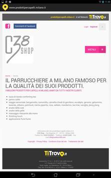 Prodotti Per Capelli Milano apk screenshot
