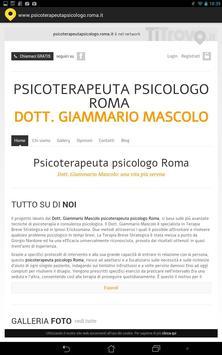Psicoterapeuta psicologo Roma poster