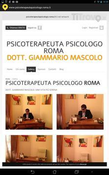 Psicoterapeuta psicologo Roma apk screenshot