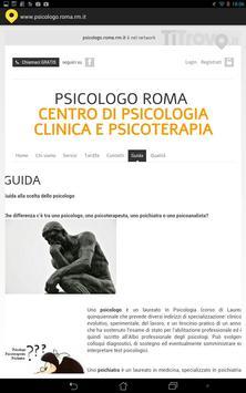 Psicologo Roma (RM) apk screenshot