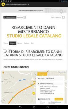 Risarcimento Danni Catania apk screenshot