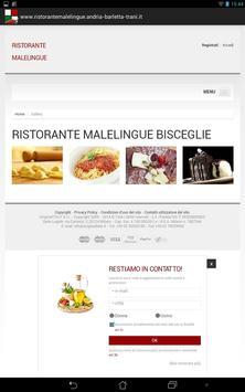 Ristorante Malelingue apk screenshot