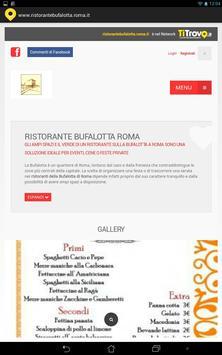 Ristorante Bufalotta Roma poster