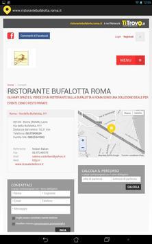 Ristorante Bufalotta Roma apk screenshot