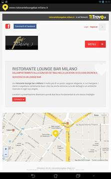 Ristorante Lounge Bar Milano poster