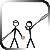 Stick Figure Badminton icon