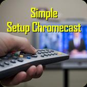 Simple chromecast com setup icon