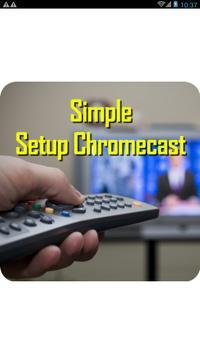 Simple chromecast com setup poster
