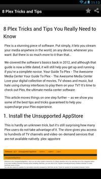 8 Tips for plex setup - poster