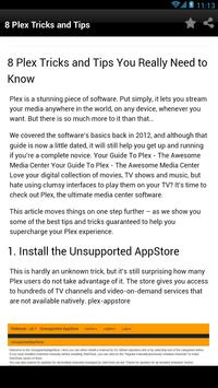 8 Tips for plex setup - for Android - APK Download