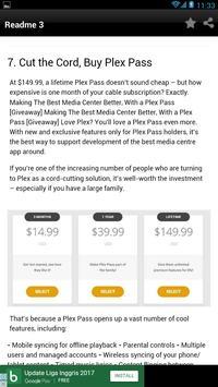 8 Tips for plex setup - apk screenshot