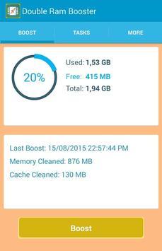 Double RAM Booster screenshot 15