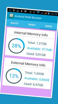 Double RAM Booster screenshot 1