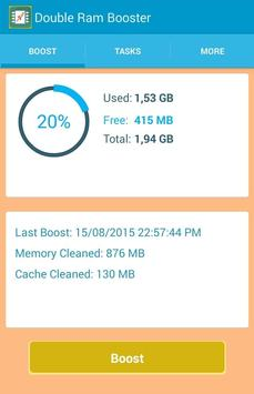 Double RAM Booster screenshot 2