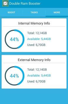 Double RAM Booster screenshot 4