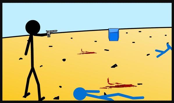 Stickman Shooter War screenshot 3