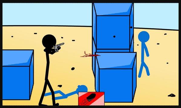 Stickman Shooter War screenshot 1