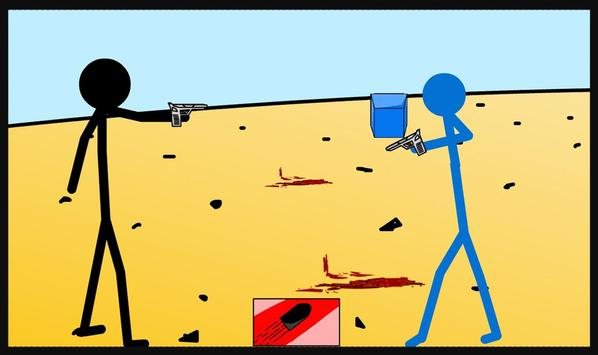 Stickman Shooter War screenshot 2
